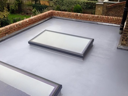 Liquid Membrame flat roofing in London