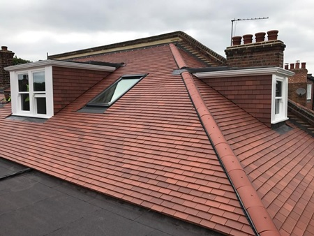New roof installations in London