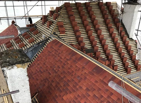 Slate Roofing Specialists for new roofs in London
