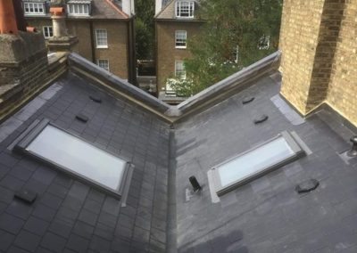 New slate roof in Kensington
